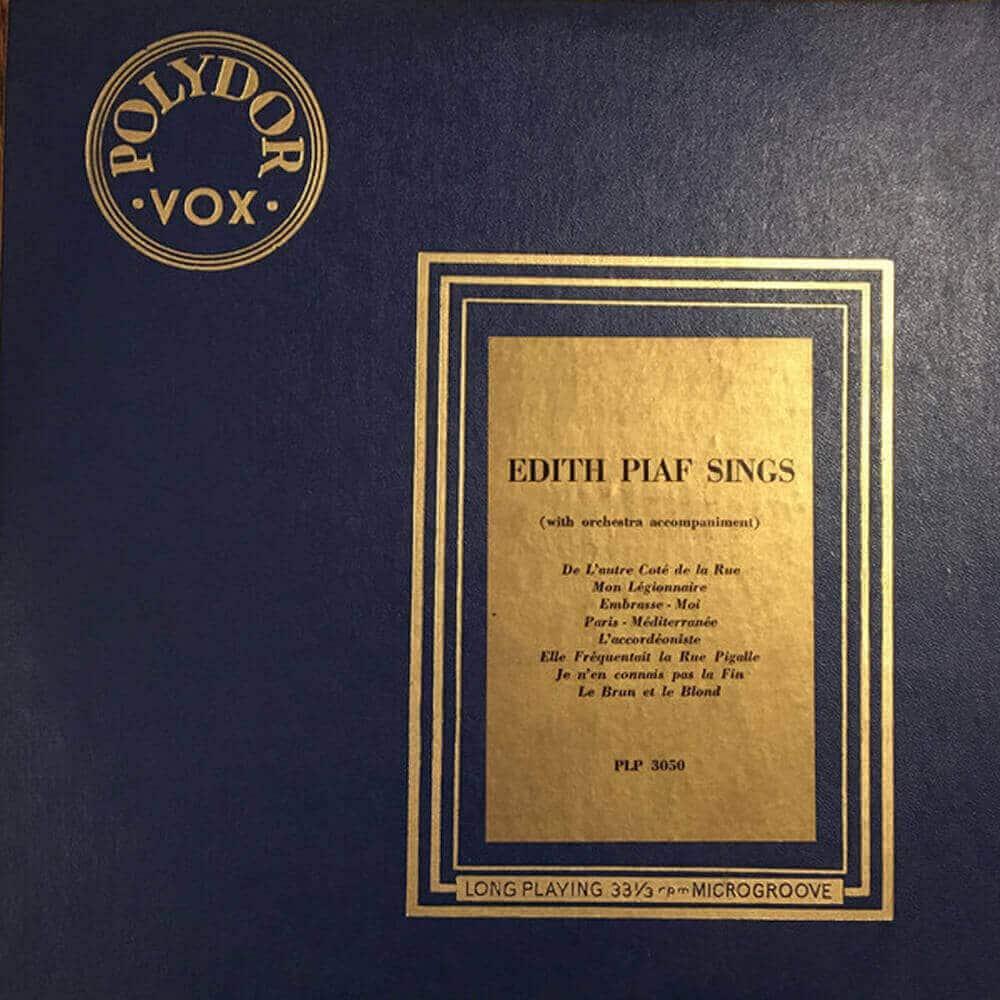 Edith Piaf Sings